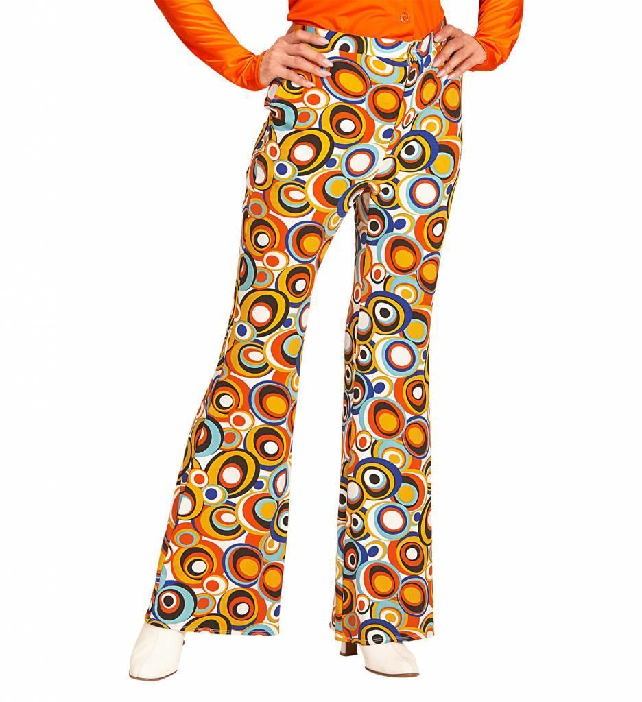 Groovy 70'S Dames Broek Luchtbellen