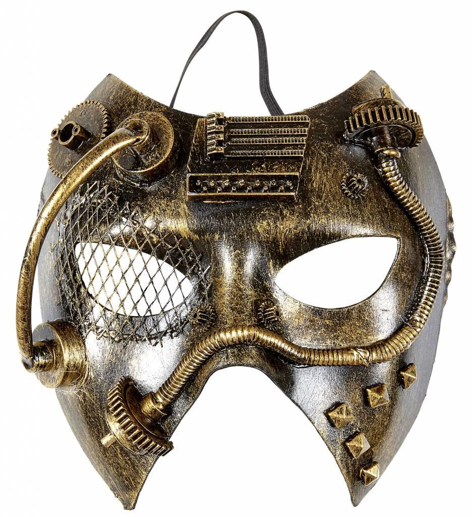 Steampunk Masker Koper