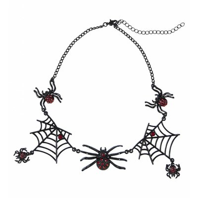 Strass Ketting Spin