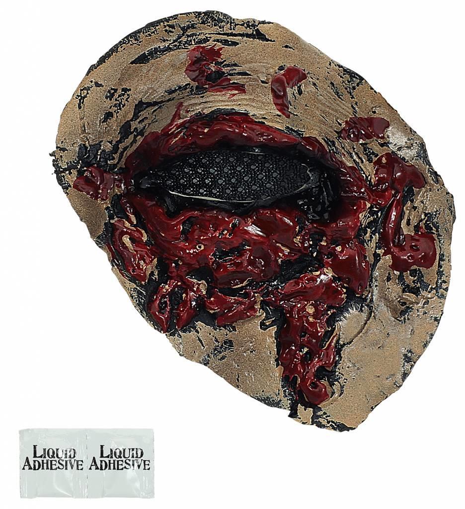 Latex Prothese Zombie Oog