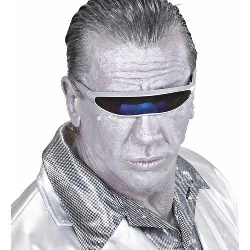 Bril Robot Zilver