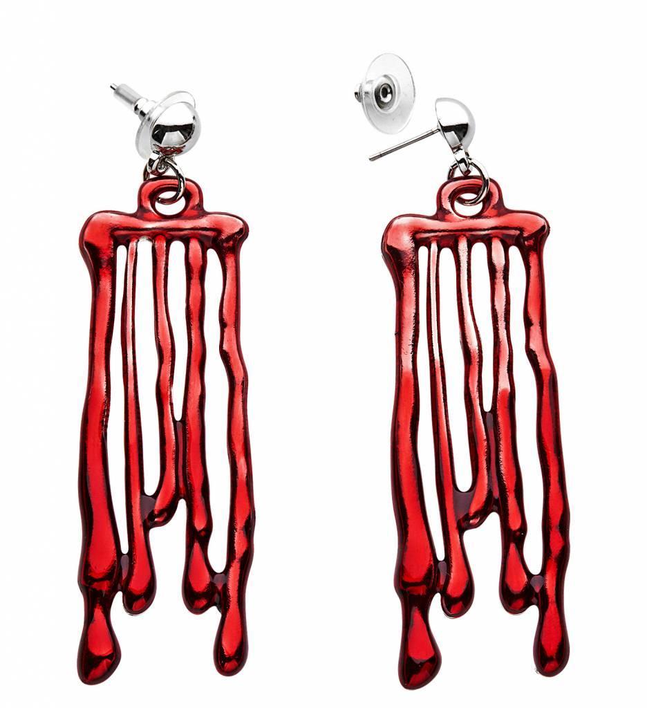 Oorbellen Druipend Bloed