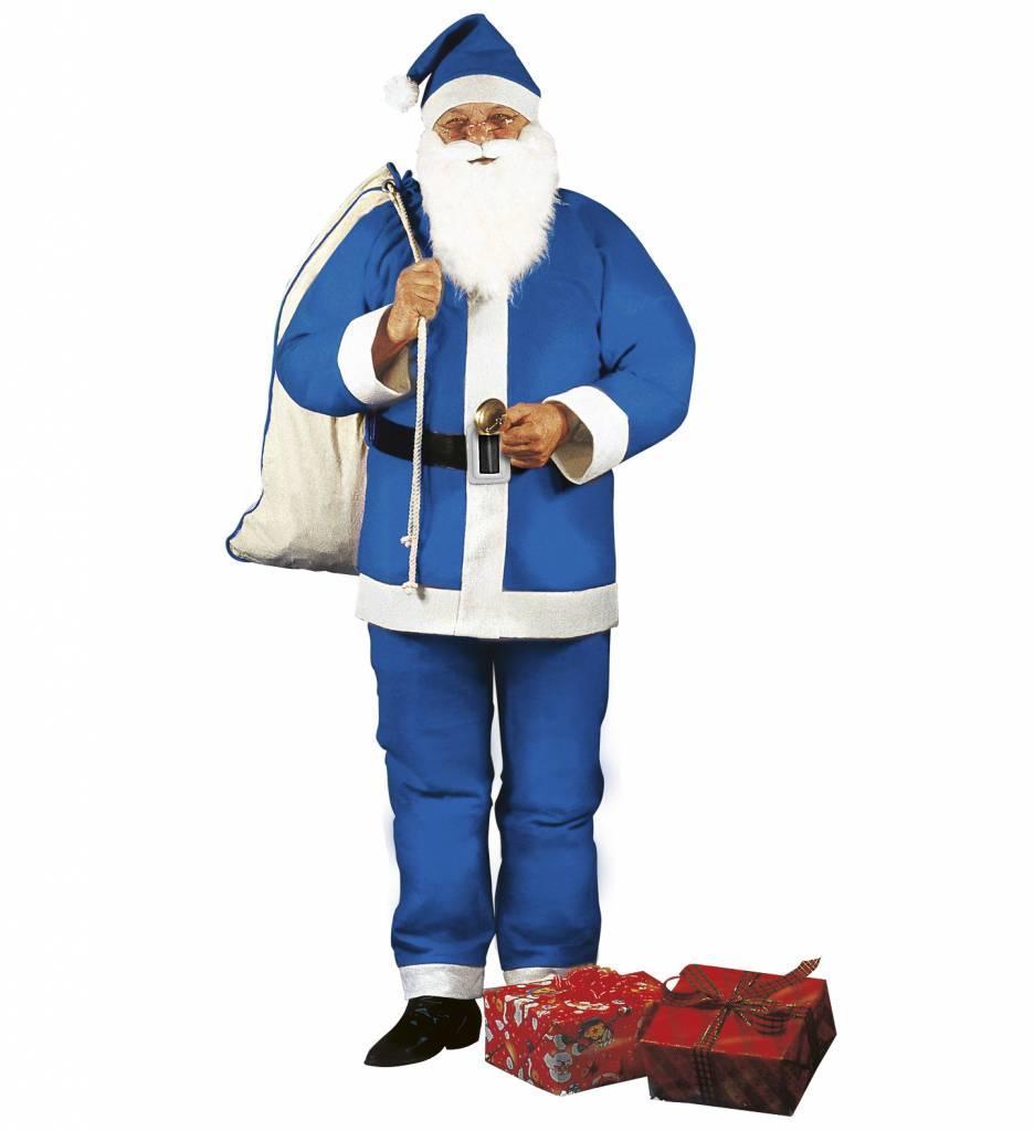 Blauwe Kerstman