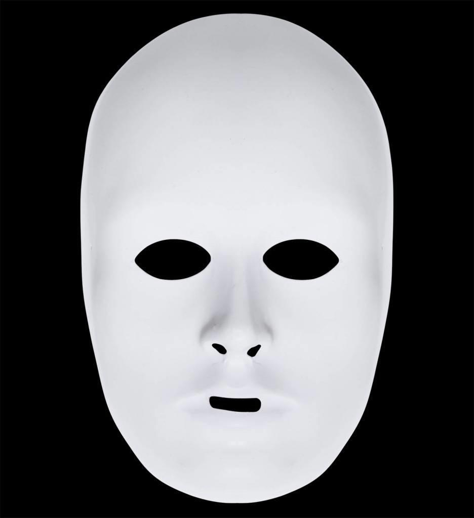 Luxe Unisex Beschilderbaar Wit Masker