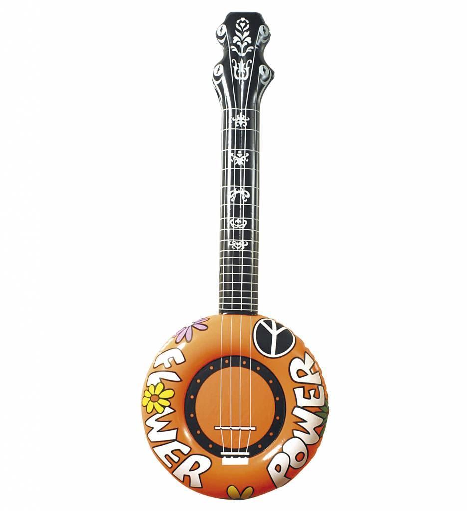 Opblaasbare Banjo 100Cm Oranje
