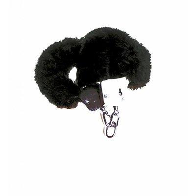 Pluche Handboeien Zwart