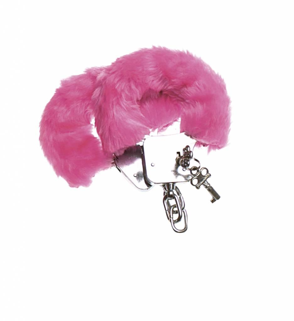Pluche Handboeien Roze
