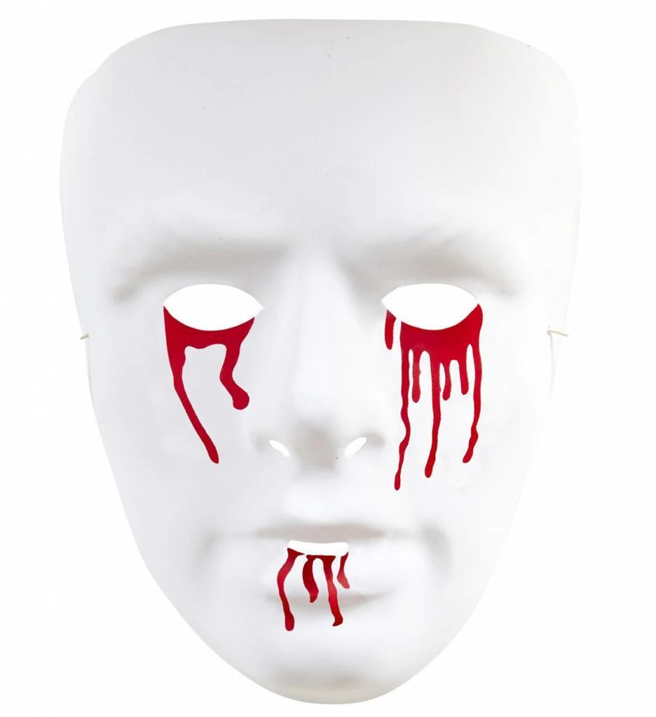 Pvc Masker Bloedende Ogen En Mond