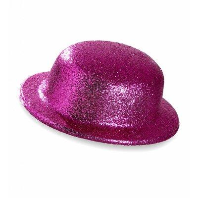 Glitter Bolhoed Roze