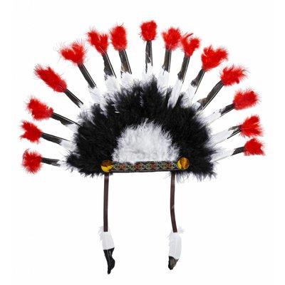 Inheemse Indianen Hoofdtooi