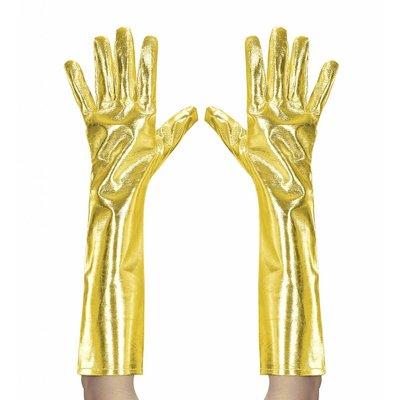 Metalic Handschoenen Goud