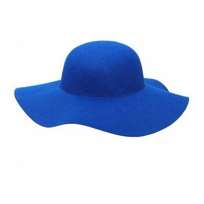 Dameshoed Blauw