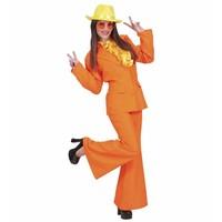 Widmann Party Kostuum Dame Neon Oranje