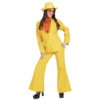 Party Kostuum Dame Neon Geel