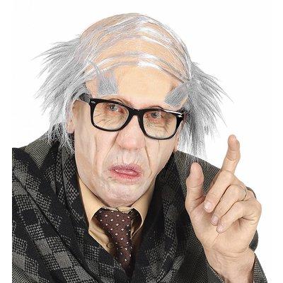 Hoofdbedekking Oude Man Met Wenkbrouwen