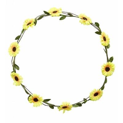 Hoofdband Gele Bloemen