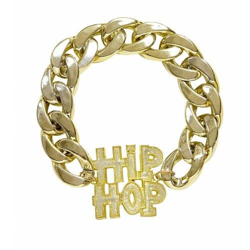 Armband Hiphop Goud