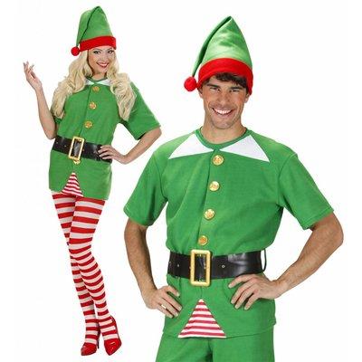 Elf Shirt Met Riem En Muts