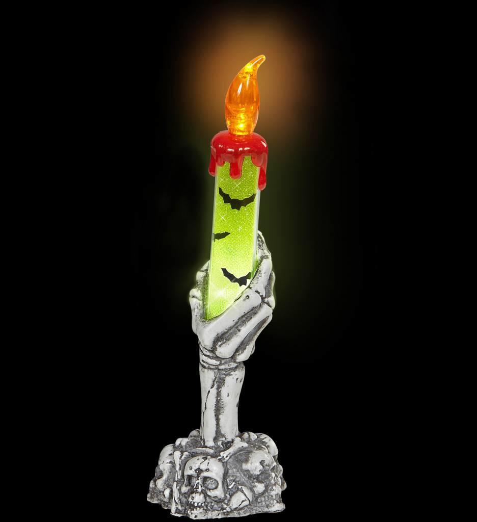 Skelet Hand Kaarshouder