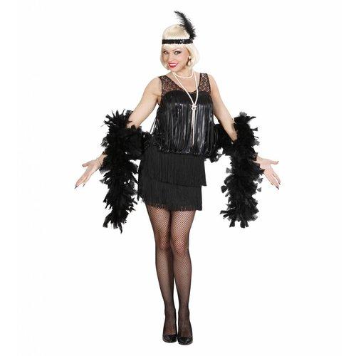 Widmann 20'S Charleston Flapper Zwart