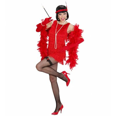 Luxe Flapper Rood