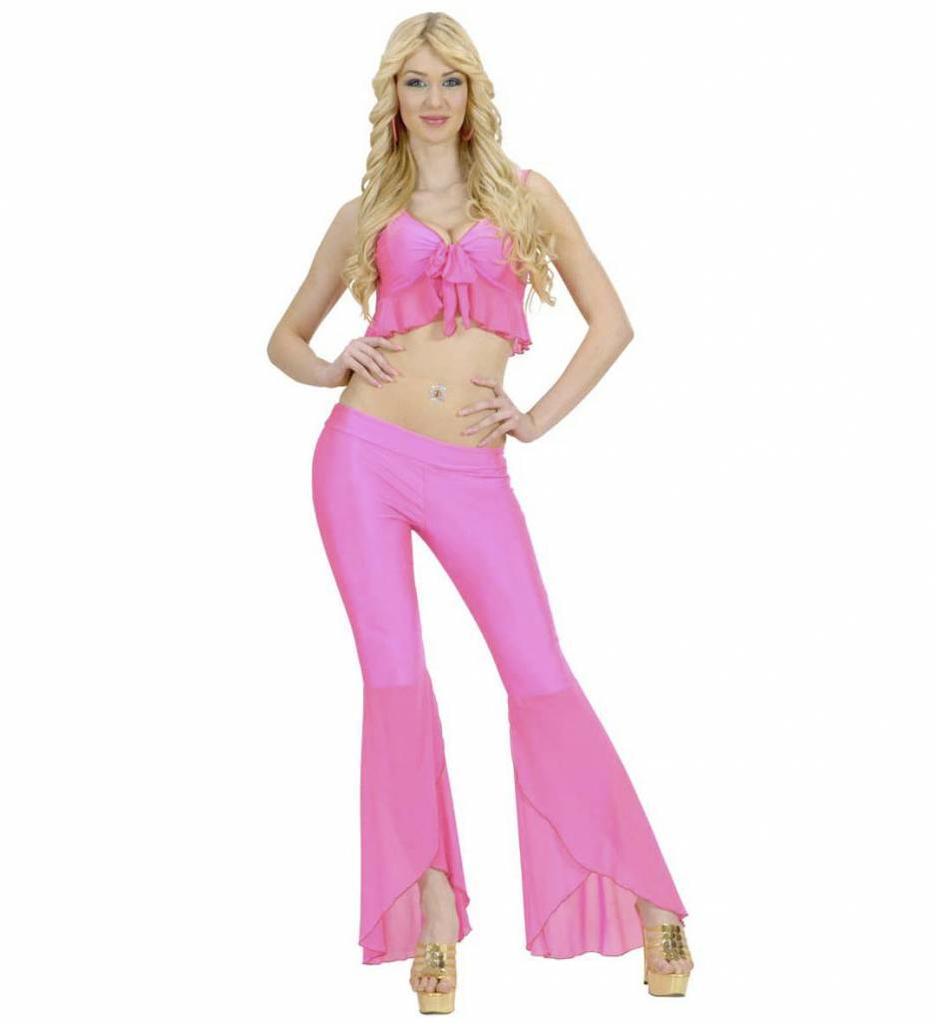 Samba Top En Broek Neon Roze