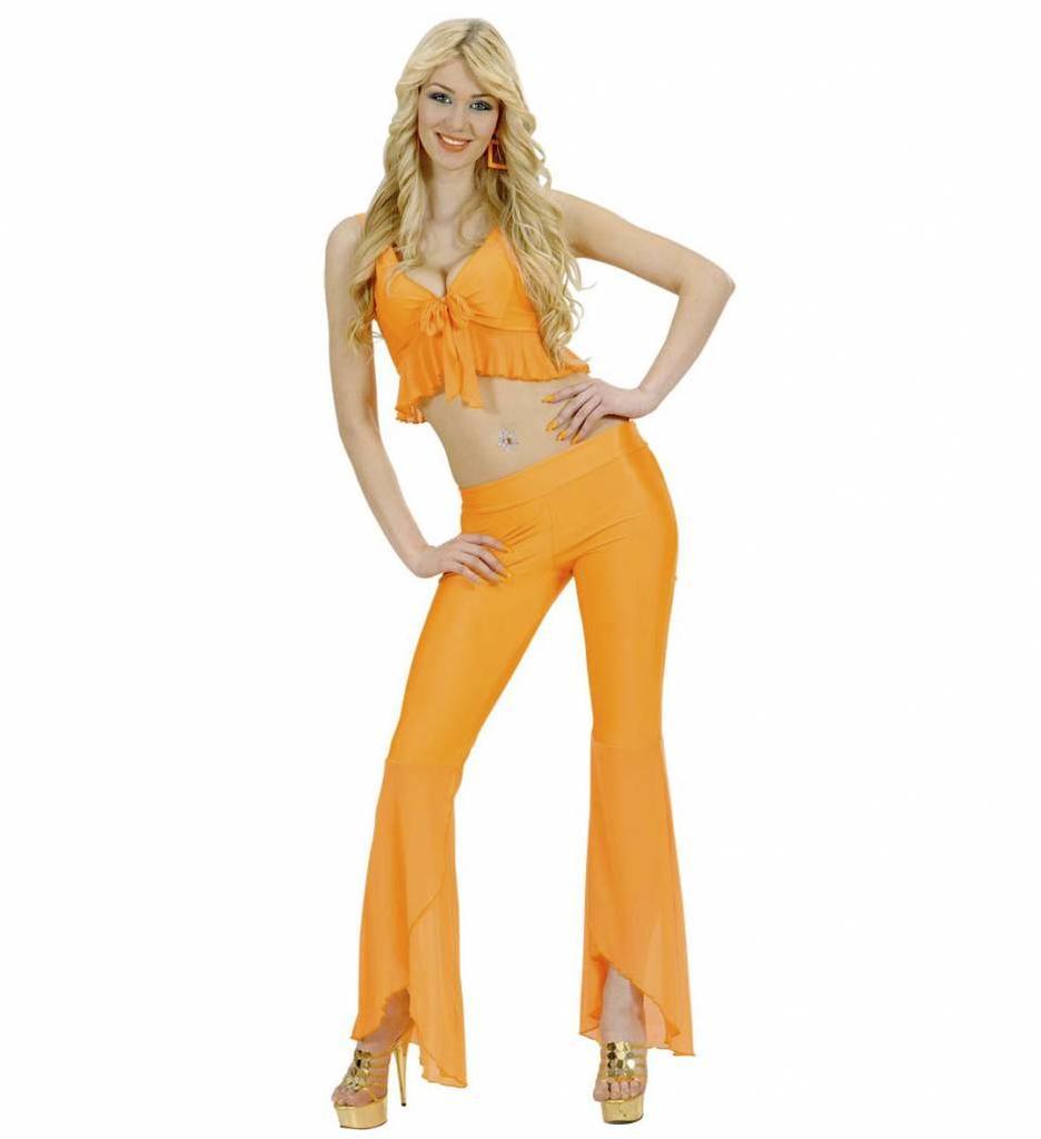 Samba Top En Broek Neon Oranje