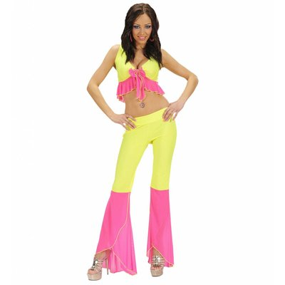 Samba Top En Broek Neon Geel/Roze