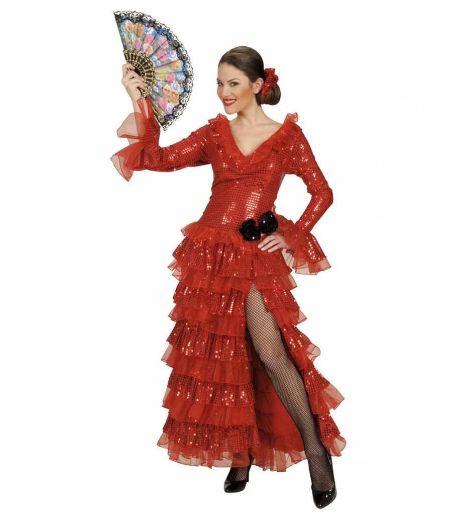 Spaanse Paillettenjurk Carmencita