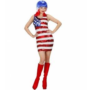 Paillettenjurk Miss Usa