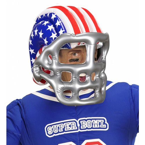American Football Helm Opblaasbaar Usa