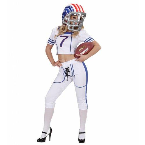 Widmann American Football Helm Opblaasbaar Usa