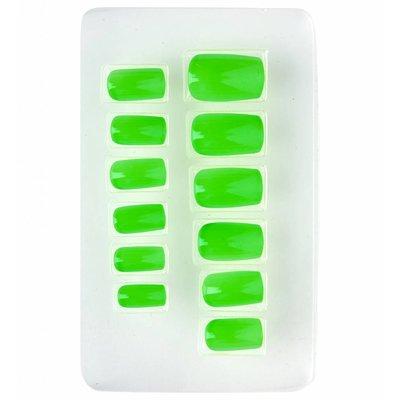 Nagels Airbrush Neon Groen