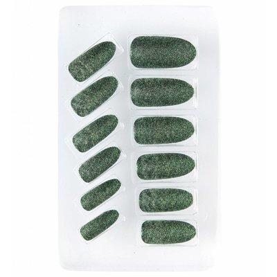 Nagels Glitter Groen
