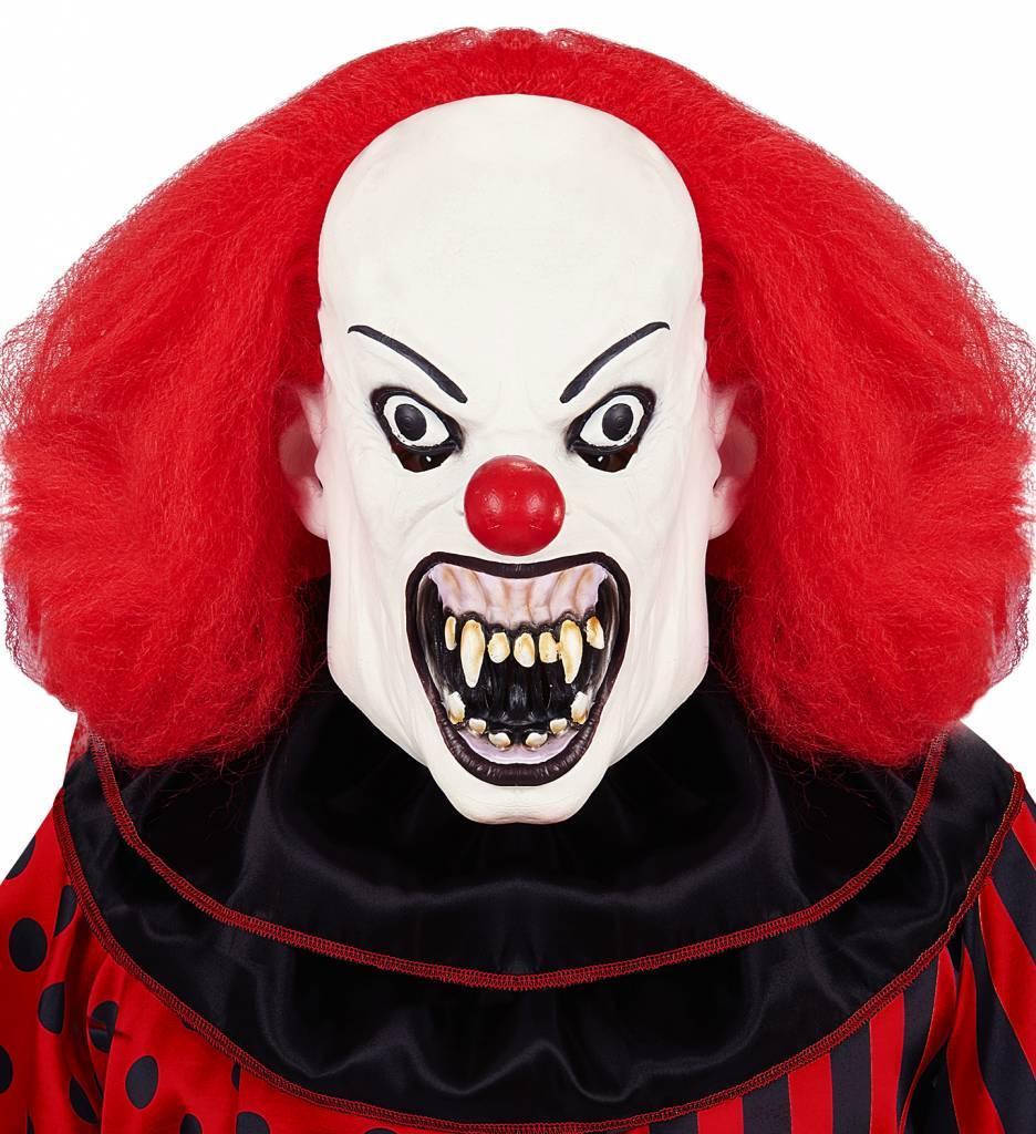 Masker Killer Clown Met Pruik