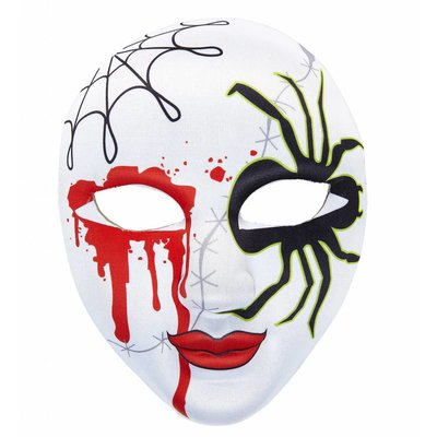 Halfgezichtmasker Bloedende Spin