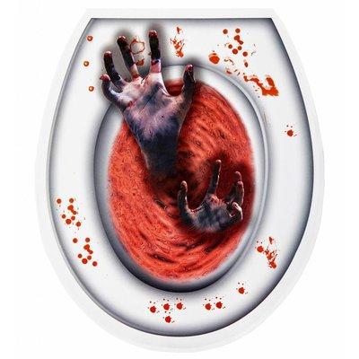 Toilet Bedekking Zombie Hand