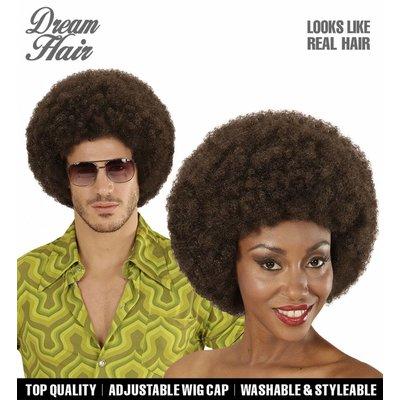 Pruik Afro Droomhaar