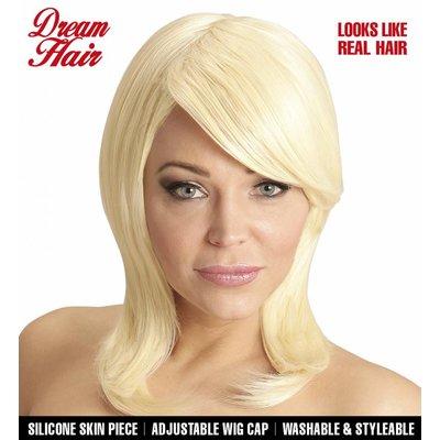 Pruik Megan Blond