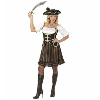 Vrouwelijke Piraten Kapitein