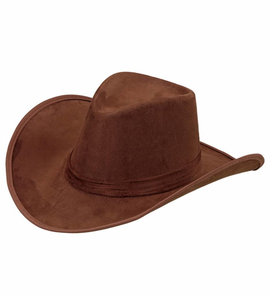 Cowboyhoed Suede Bruin