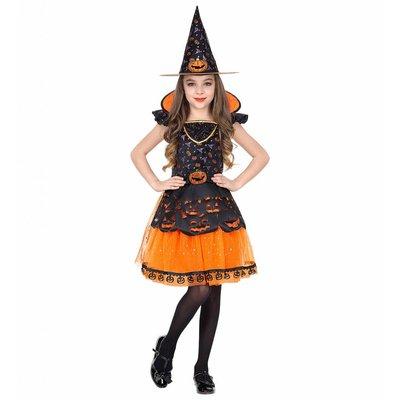 Heksen Kostuum Pompoen Halloween