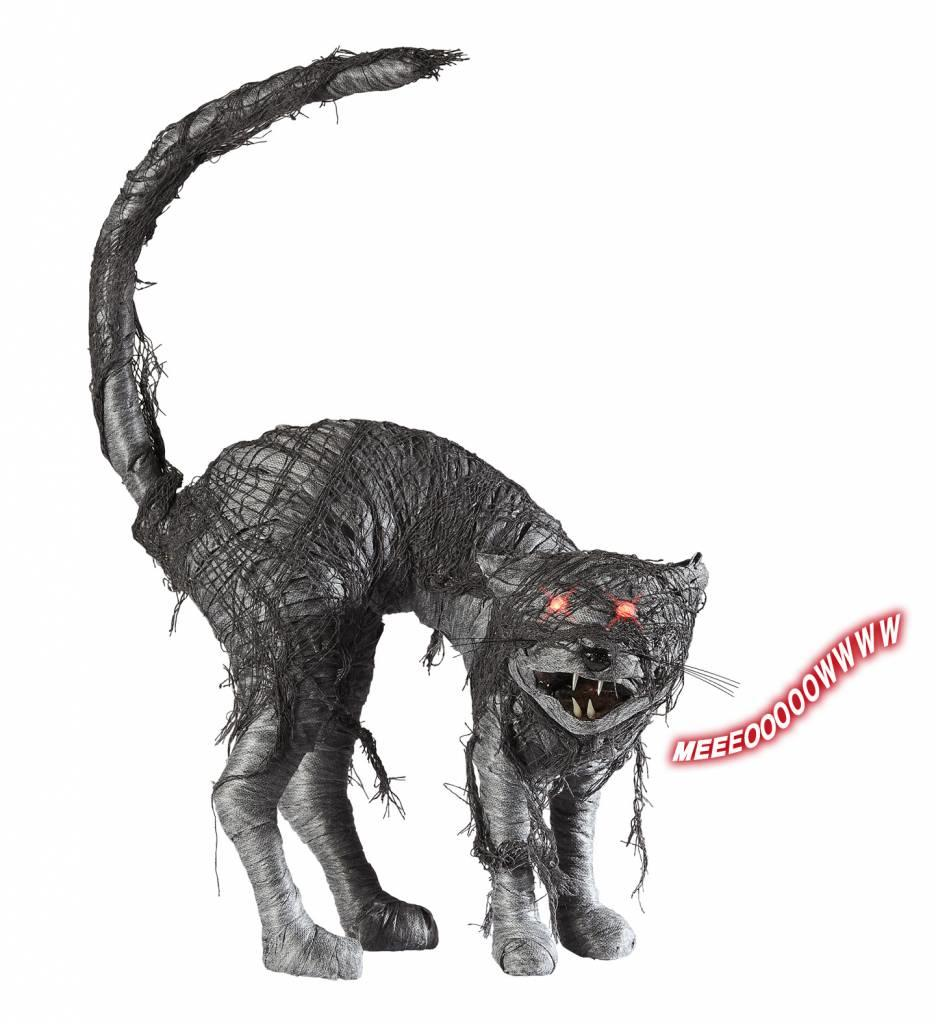 Zombie Kat Met Licht En Geluid