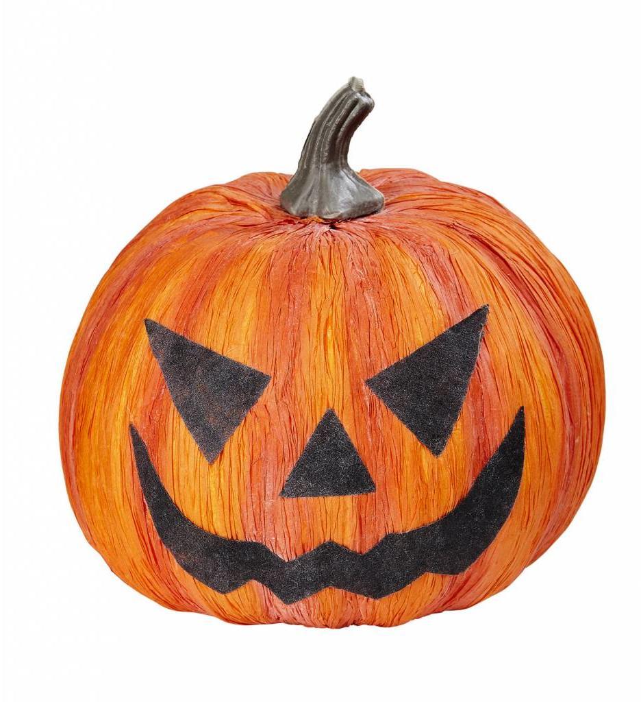Halloween Pompoen 17Cm