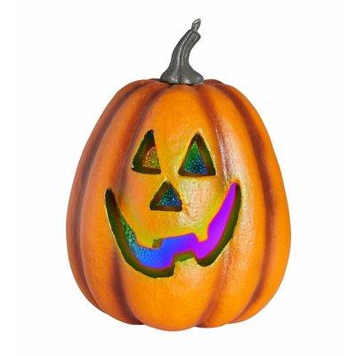 Halloween Pompoen Met Licht 23Cm