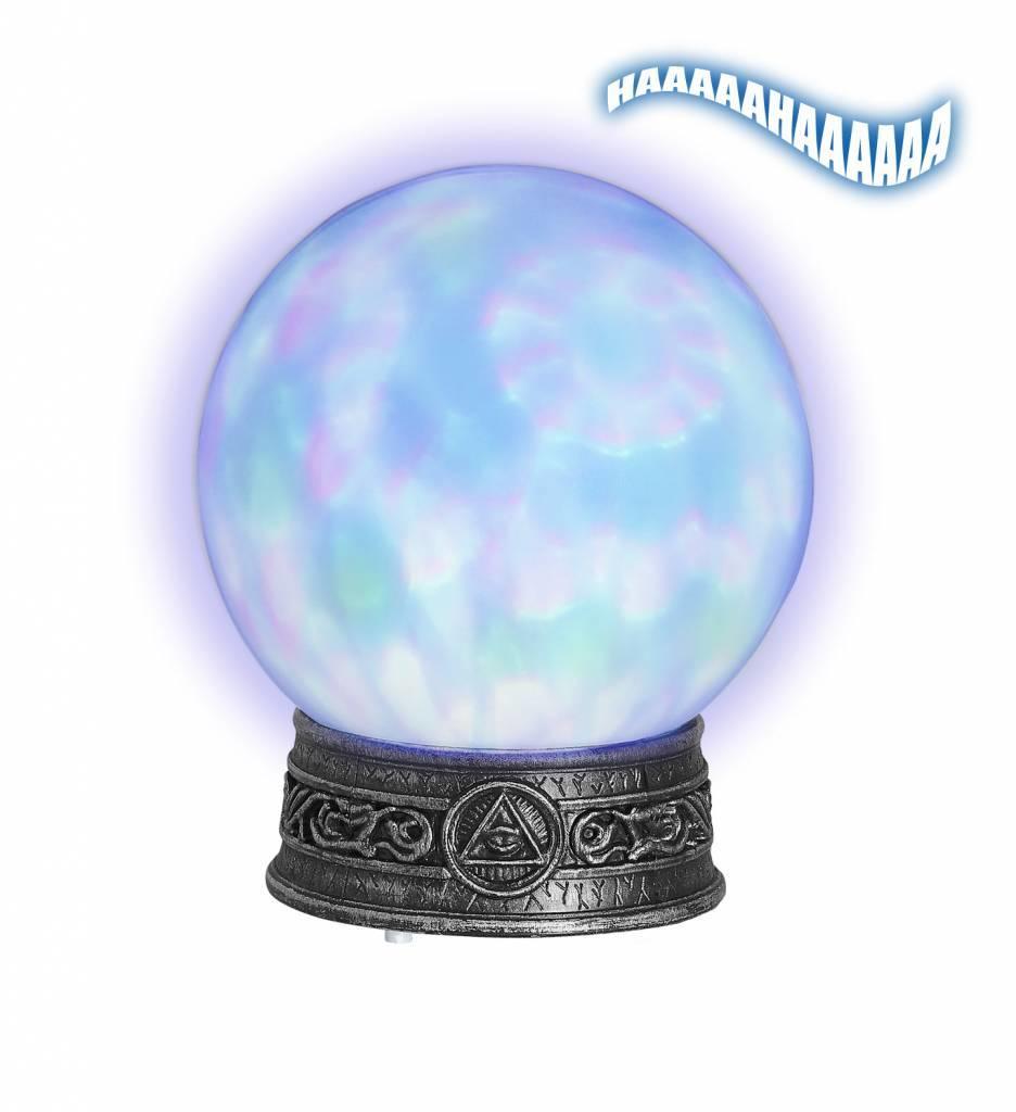 Glazen Bol Met Licht En Caleidoscoop