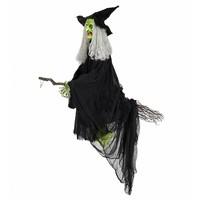 Widmann Animatie Vliegende Heks Met Geluid Licht En Beweging