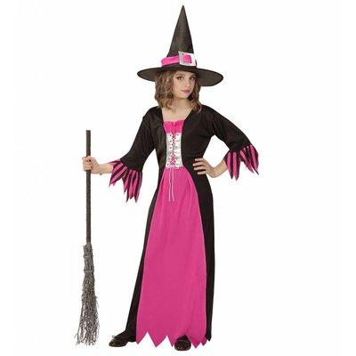 Heksenjurk Vevina Roze Kind