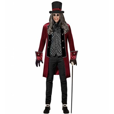 Victoriaanse Vampier Kostuum Heren