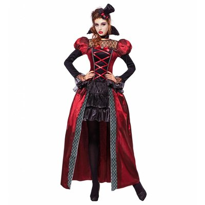 Victoriaanse Vampier Kostuum Dames